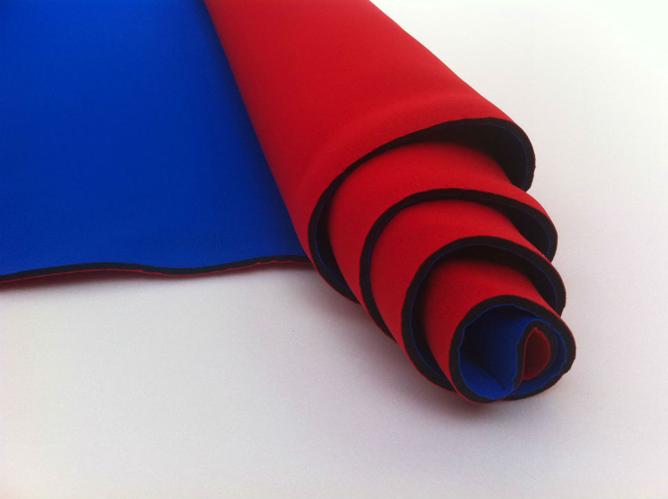 67 Neoprene rood-blauw